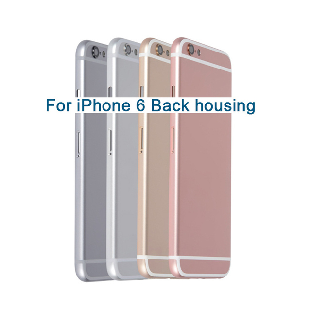 huge selection of 20d78 7c8ec US $13.56 |New Back Housing for iPhone 6 6S Plus Battery Cover Housing Case  Middle Chassis Body with IMEI Replacement repair parts-in Mobile Phone ...