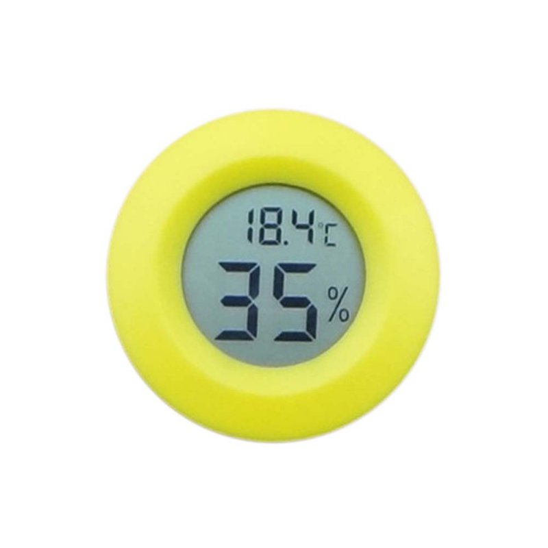 New Mini LCD Digital Thermometer Hygrometer Fridge Freezer tester Temperature Humidity Meter detector digital lcd thermometer temperature sensor fridge freezer thermometer indoor fashion thermometer digital new thermometer