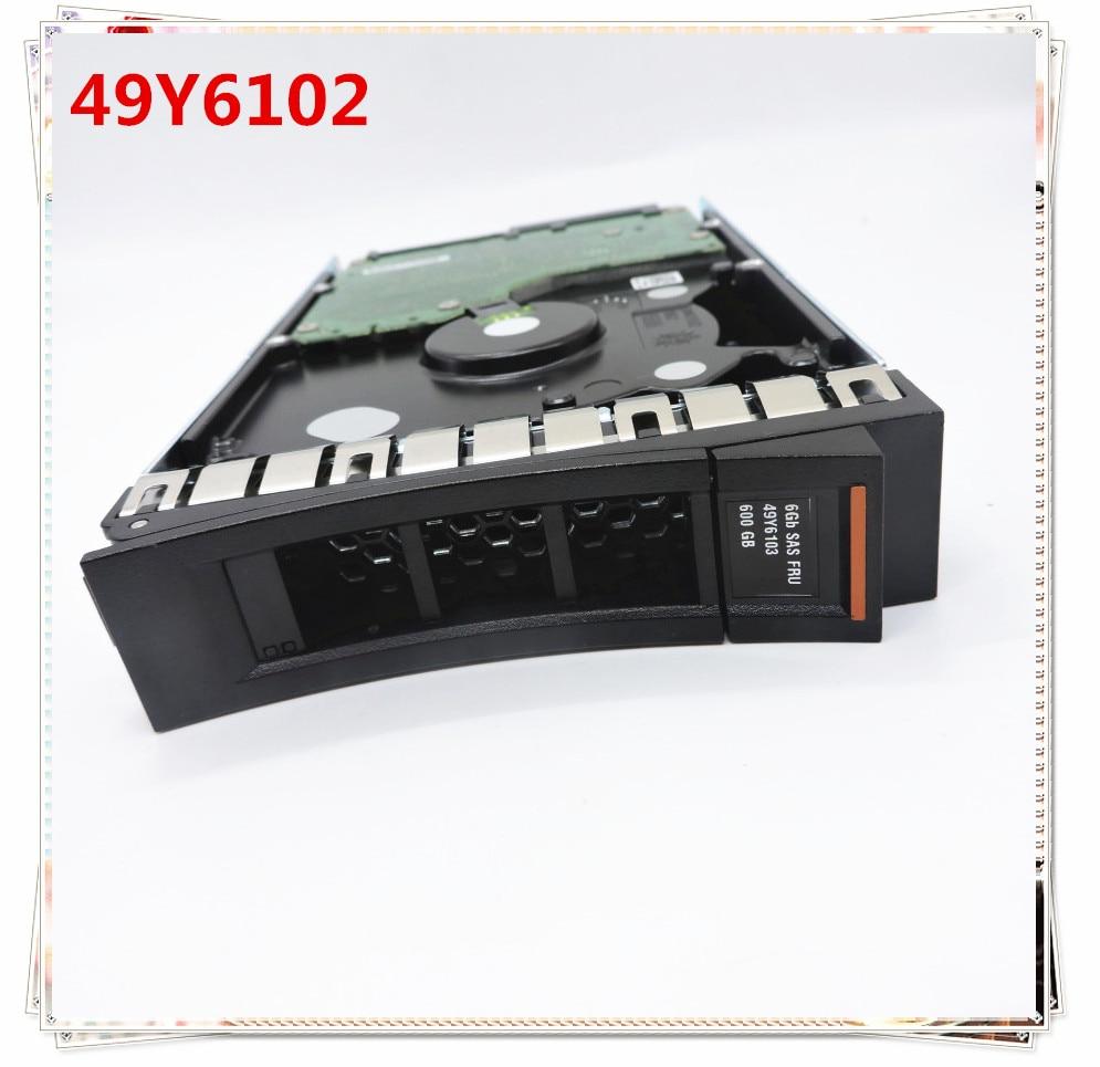 new and original for 49Y6102 49Y6103 49Y6106 600G SAS 15K 3 5 6GB M4 3 year
