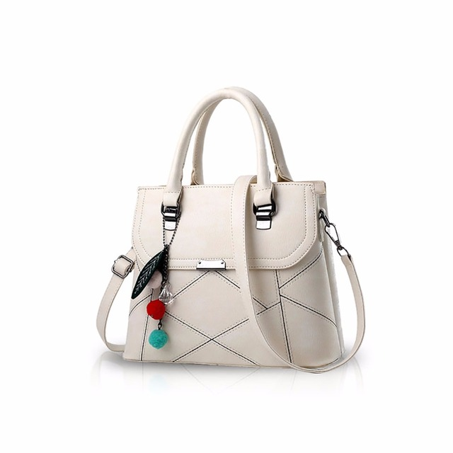 fc4e6c98fe65 US $61.98 |NICOLE&DORIS Casual Handbag Female Crossbody Totes Messenger  Shoulder Bag for Women Soft PU Leather -in Top-Handle Bags from Luggage &  Bags ...