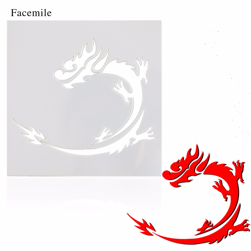 online buy wholesale dragon stencil designs from china dragon