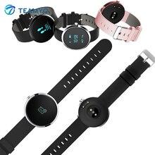 Teamyo H09 Bluetooth Smart пульсометр крови Давление фитнес-трекер браслет шагомер часы для IOS Android