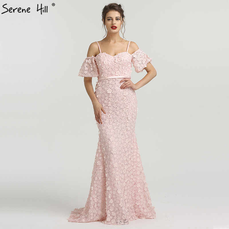 Long Arabic Turkish Pink Off Shoulder Mermaid Formal Evening Prom Party Gown  Dress Abiye Gowns Dresses da72bf2c0fed