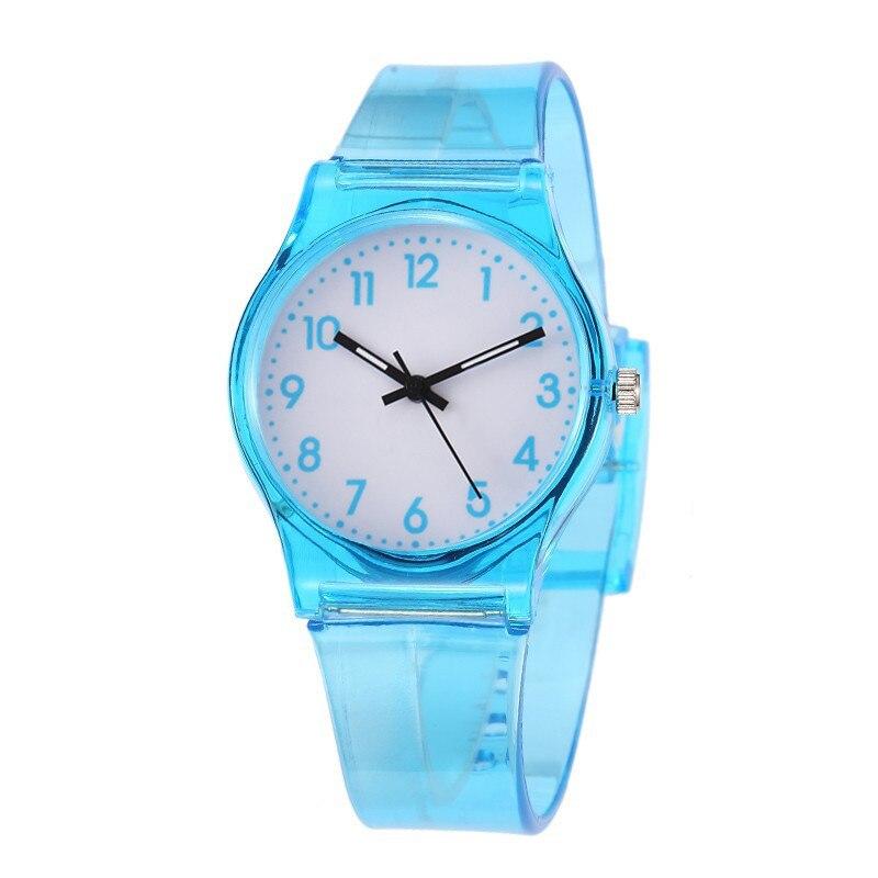 30M Waterproof Children Watch Casual Transparent Watch Jelly Kids Boys Watch Girls Wrist Watches clock relogio montre enfant