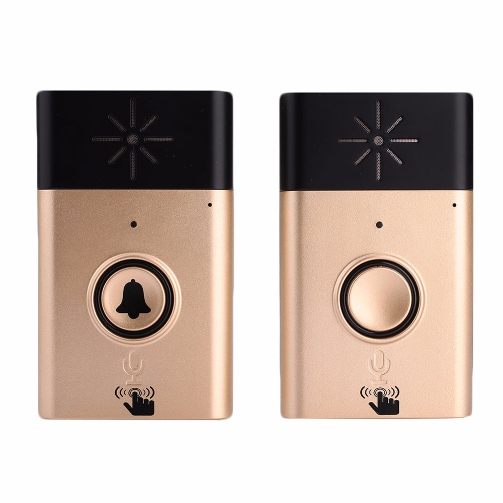 Wireless Audio Intercom Door Bell Ring Home Security Transmitter Receiver Doorbell Ring