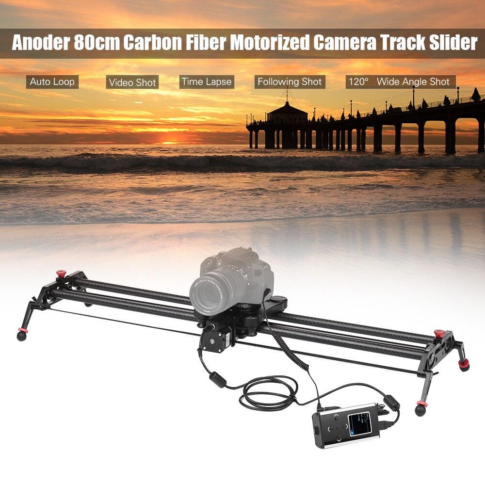 Andoer gp 120qd 120cm motorized camera track slider dolly for Motorized camera slider timelapse