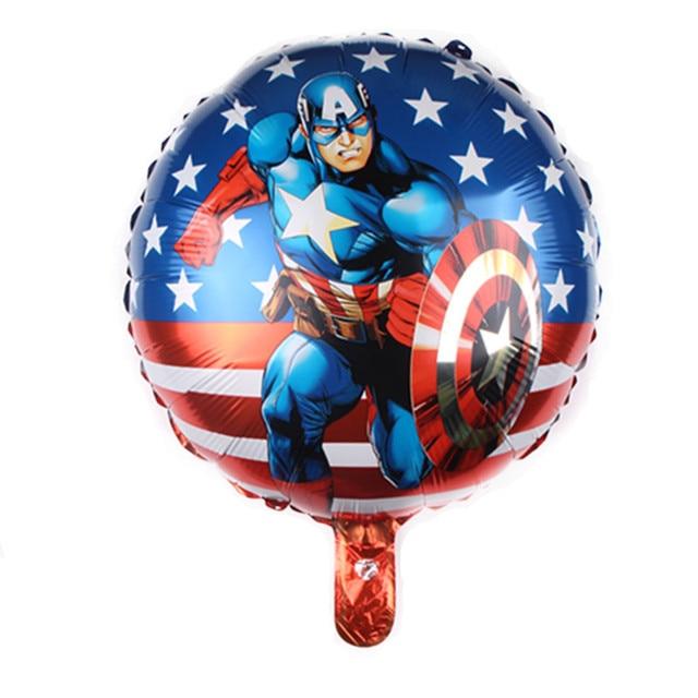 1PC 18inch Captain America Foil Balloon Kids Birthday