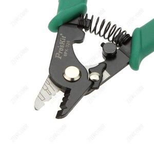 Image 3 - ProsKit Hoge kwaliteit 8PK 326 Fiber Optische Stripper FTTH Coaxia Elektrische Draad Stripper Gratis Verzending