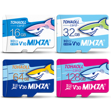 MIXZA HY carte mémoire 256GB 128GB 64GB U3 80 mo/s 32GB carte Micro sd Class10 UHS 1 carte flash mémoire Microsd TF/cartes SD