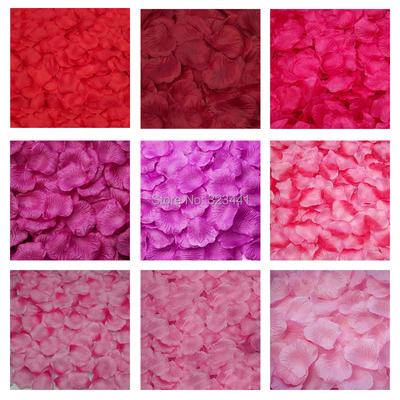 Wholesale Flowers For Weddings Events: Free Shipping 1000pcs/lot Wedding Decorations Fashion