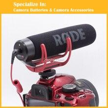 DSLR Micrófono Rode VideoMic Ir Vídeo Cámara Micrófono de cañón para Canon Nikon Sony Micrófono Rode Ir Rycote Video Mic