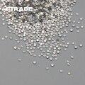 1440 pc 1.9 - 2.0 mm Top Quality SS6 White Opal strass 3D Nail Art decoração natator Rhinestone de vidro DIY Bead jóias