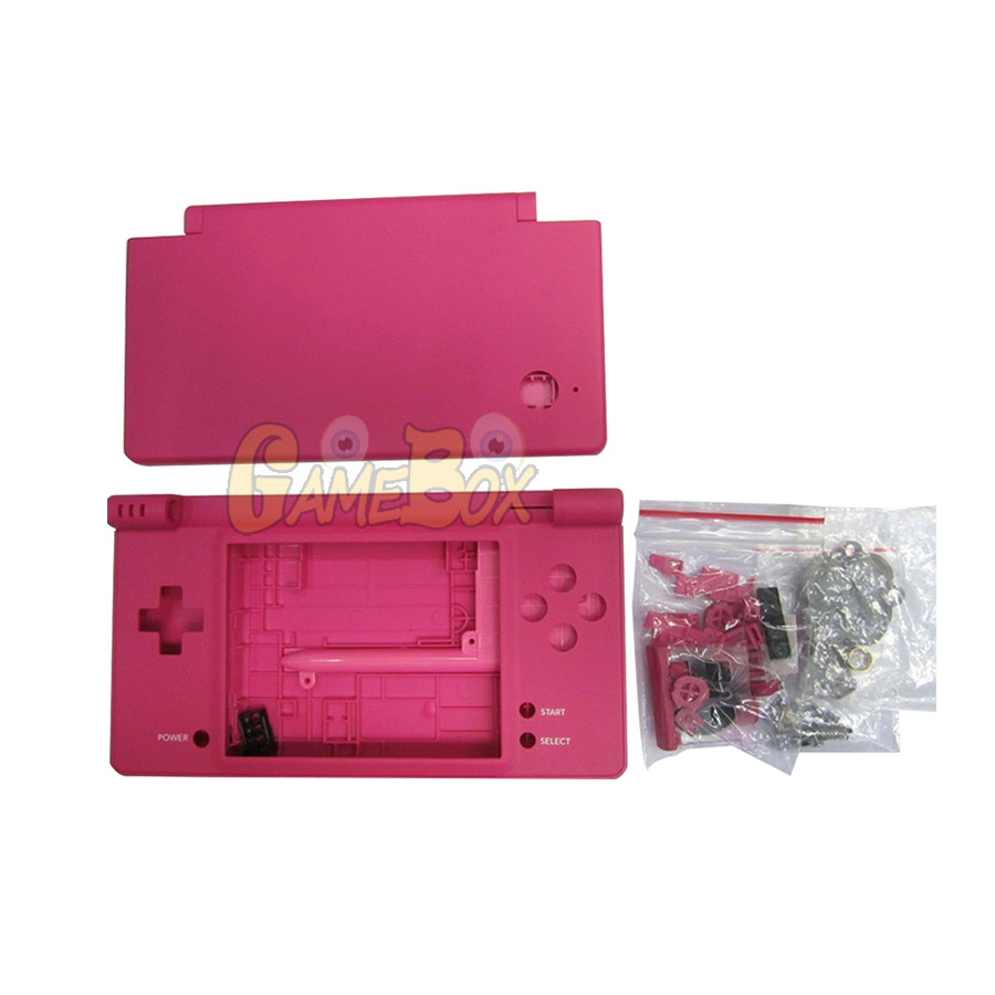 High Quality Full Housing Cover Shell Case for Nintend NDSi Console Shell Housing Cover Case for NDSi with Button kits in Replacement Parts Accessories from Consumer Electronics