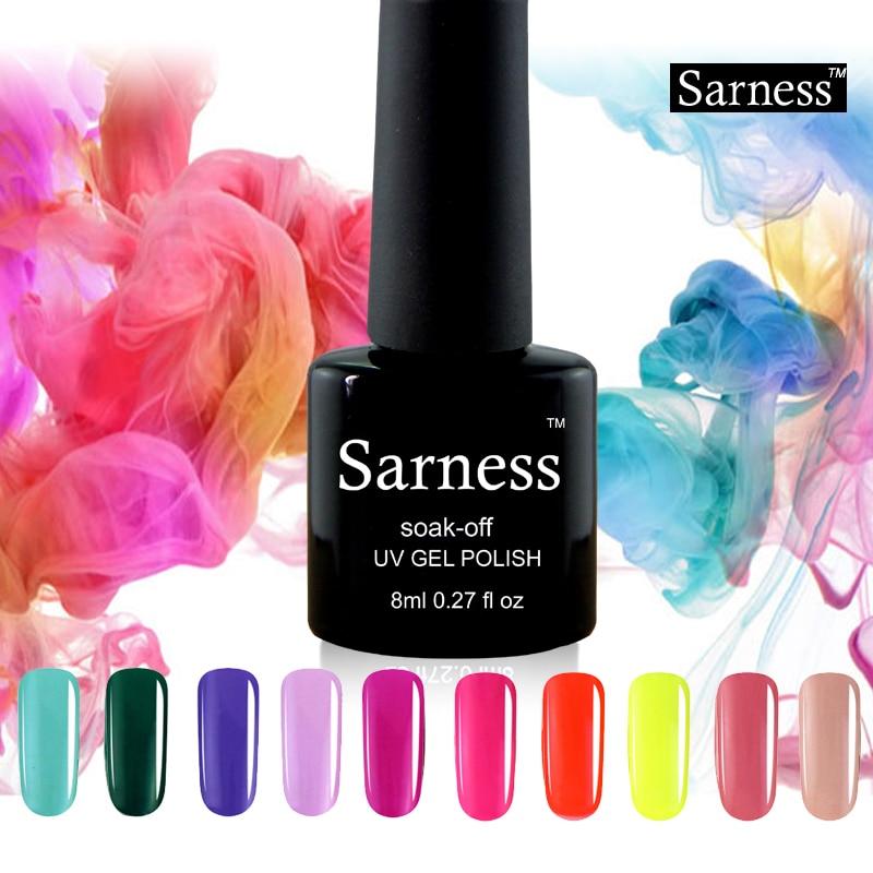 Nail Gel Brands: Sarness Brand UV Gel Nail Polish Beautiful Professional