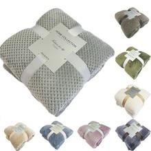 Япония стиль мягкие фланелевые одеяла из искусственного меха летний бросок зимний лежак постельное белье диван покрывало плед тонкие одеяла