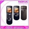 Original nokia 8800 sirocco teléfono abierto original 128 mb memoria 2.0mp cámara bluetooth fm reproductor de mp3
