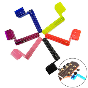 Electric Guitars Accessories Colorful Guitar String Winder Quick Speed Peg Puller Bridge Pin Remover Tool for Acoustic random