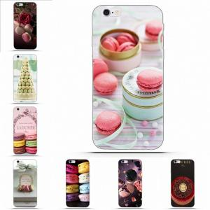 Wexoeq Paris Laduree Macaron For LG G2 G3 mini spirit G4 G5 G6 K4 K7 K8 K10 2017 V10 V20 V30 Soft TPU Pattern Case Cover