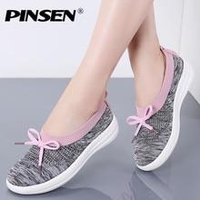 PINSEN 2020 Summer Casual Women Flats Shoes
