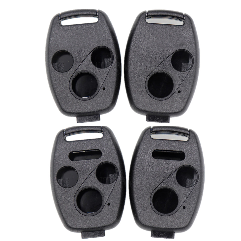 2//3//4 Buttons Car Remote Key Case Fob Shell For Honda Civic Accord Pilot CRV