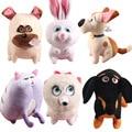 The Secret Life Of Pets Cotton Movie Plush Toys Max Snowball Gidget Mel Chloe Buddy Animals Model Doll Baby Gift