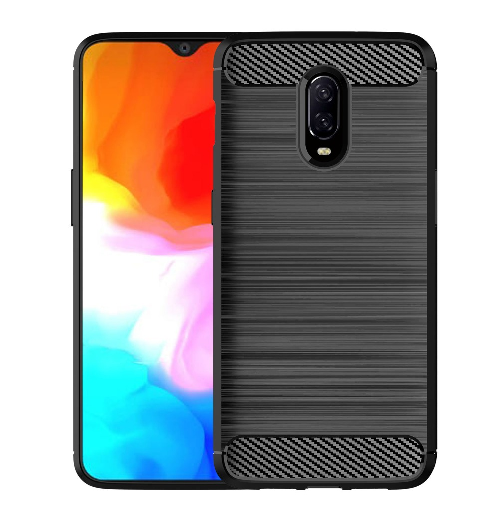 Carbon Fiber Texture For Oneplus 5 6 5T 6T Case For Oneplus 5T 6T 5 6 Shockproof Full Protect Back Cover For Google Pixel 2 3 XL