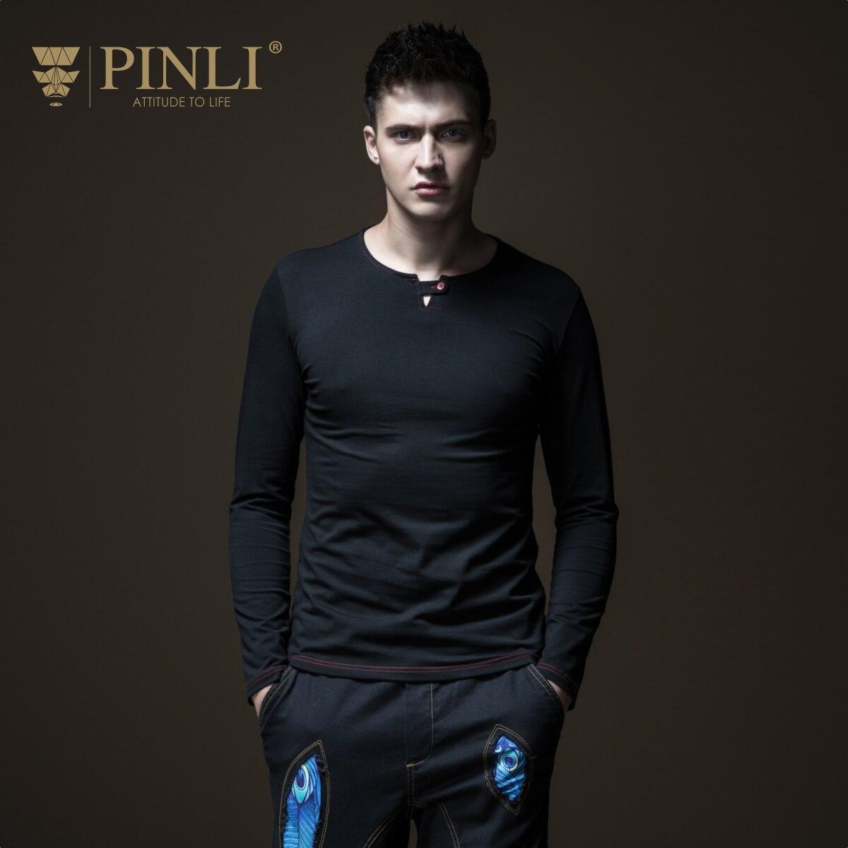 Dragon Ball Palace Pin Li nouveau automne T-shirt à manches longues homme col rond couleur Pure auto réparation chemise de fond B183111081