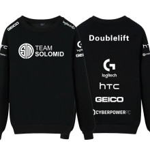 Hot Game LOL S6 Team TSM SoloMid Doublelift Hauntzer Unisex Hoodies Cosplay Sweatshirt Autumn and winter Hoodie for men women(China)