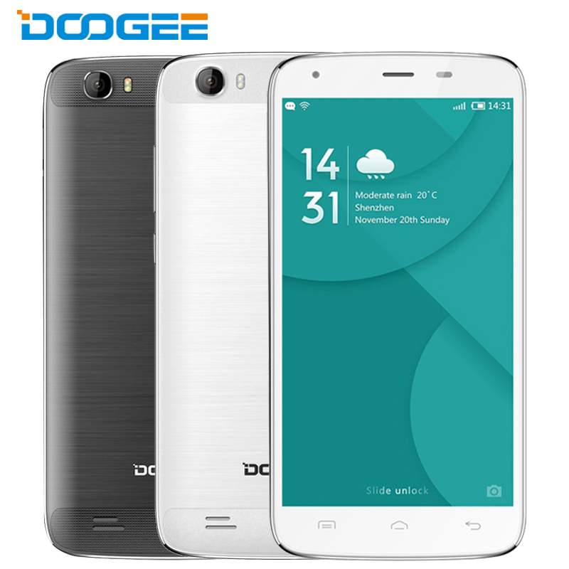 Original Doogee T6 Pro Cell Phone 3GB RAM 32GB ROM MTK6753 Octa Core Android 6 0