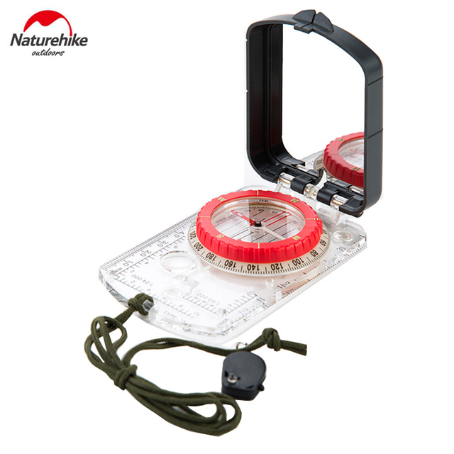 New Multi-funtional Compass Outdoor Geologic Compass Fluorescent Compass  NH15A003-E
