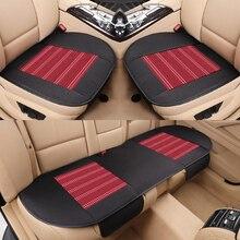 KKYSYELVA легкий в установке автомобильный сиденья чехлы Универсальный Авто Передняя Задняя чехол на сиденье автомобиля подушка для стула Pad аксессуары для интерьера