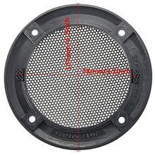 3.5inch Decorative SubWoofer Audio Speaker Cover Circle Metal Guard Protector Mesh Grille Covers Trim Speaker Accessory denon da 10