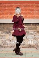 Фирменная Новинка шерстяной бордовый милые зимние пальто Зимние пальто для девочек Брендовое зимнее пальто