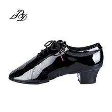3bbc3350 Sneakers Zapatillas de baile Latino hombres Navidad regalo BD 419 leathe  patente escuela de danza desgaste antideslizante vaca s.