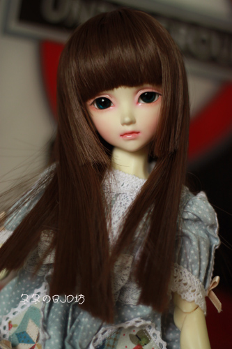 1/3 1/4 1/6 Bjd Wig High Temperature Wire Dark Coffee Colors Straight Beautiful Wig For BJD Hair Wig 1 3 1 4 bjd wig doll diy high temperature white