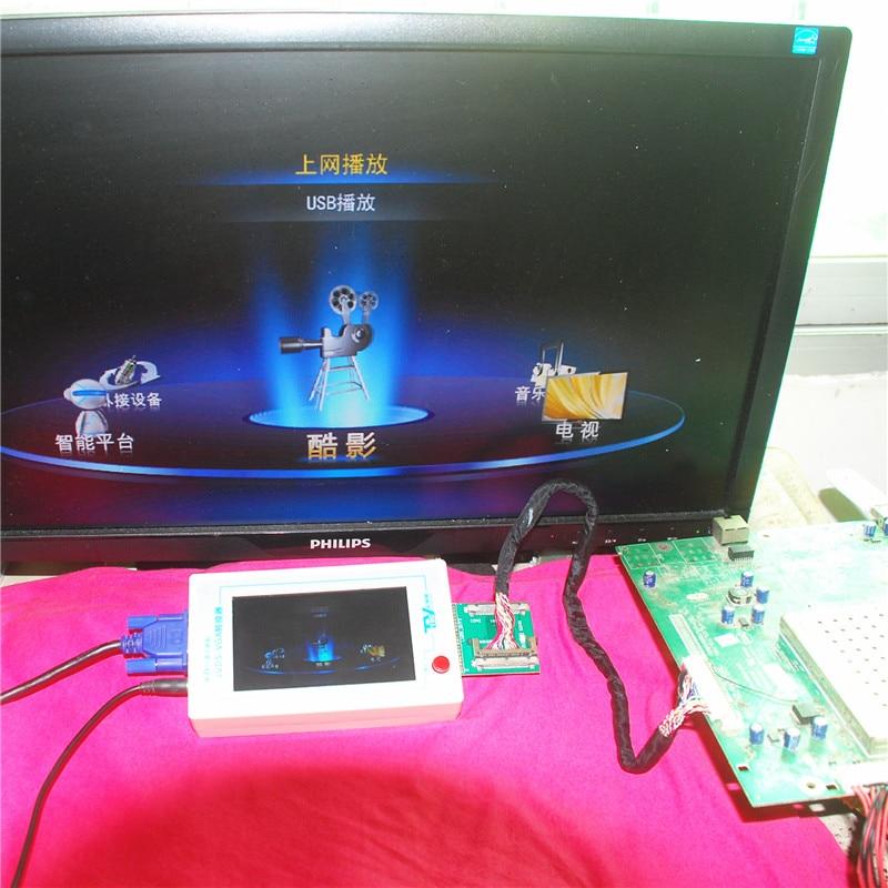 TKDMR Nuovo TV160 Full HD LVDS Turn VGA (LED / LCD) Convertitore - Strumenti di misura - Fotografia 3