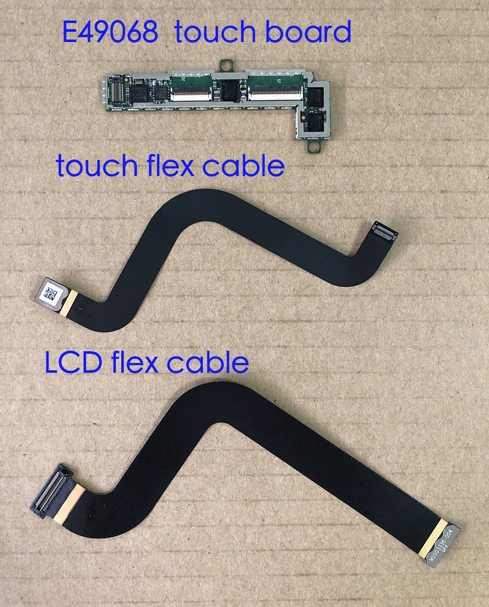 Cable For Microsoft Surface Pro5 Pro 5 1796 Touch LCD Flex Cable Connectors Small Board M1003333-005 M1003336-004