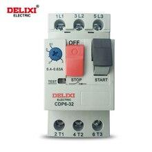 DELIXI CDP6-32 Motor Circuit Breaker Motor Start Integrated Protector