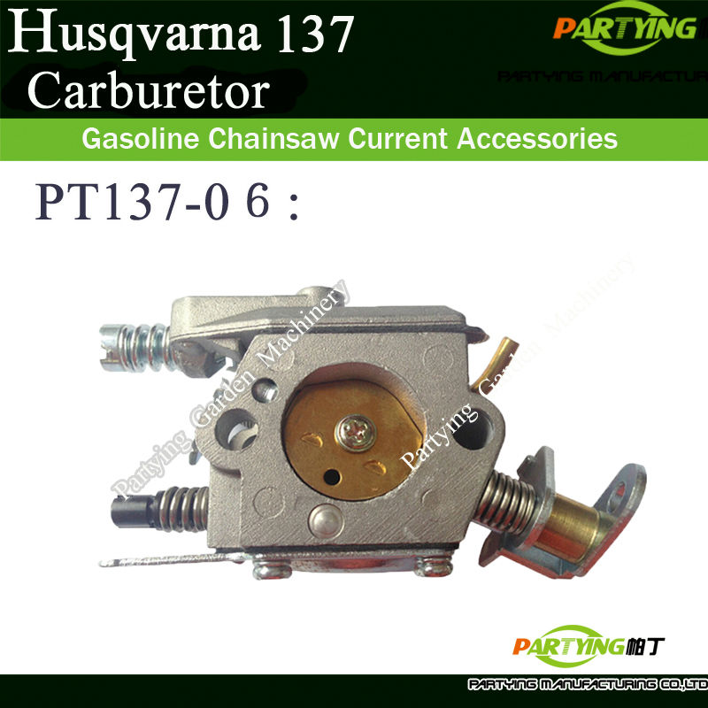 HUS 136 137 141 142 CHAINSAW ENGINE MOTOR CHAINSAW CARBURETOR REPLACEMENT METAL PARTS FREE SHIPPING PT137-06 chainsaw crank crankshaft kom62 6200 62cc chainsaws metal parts black free shipping in stroke free shipping pt62 09