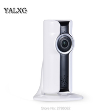 Yalxg Mini Wifi VR IP Wireless 960P HD Smart 180 panoramic Network Security Home Protection Surveillance Camera with sd Storage