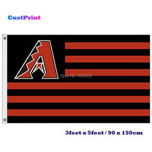 CustPrint 3 x5  bandeiras Bandeira Da Equipe de Beisebol Baltimore Orioles  Impressão Banner Personalizado Esportes Bandeiras Ban. 613ea21aeb2