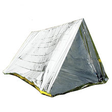 Outdoor PET Tenda Camping Isolasi Selimut Darurat Portable Bantuan Bencana Pantai Kanopi Naturehike Backpacking Ultralight(China)