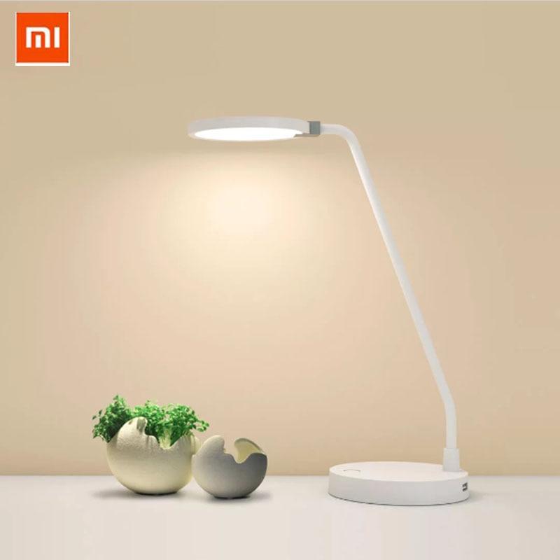 Original Xiaomi Smart COOWOO LED Lamp  4000mAh Power 2USB Intelligent Control Eye Protection Light Adjustable Desk Table Lamp