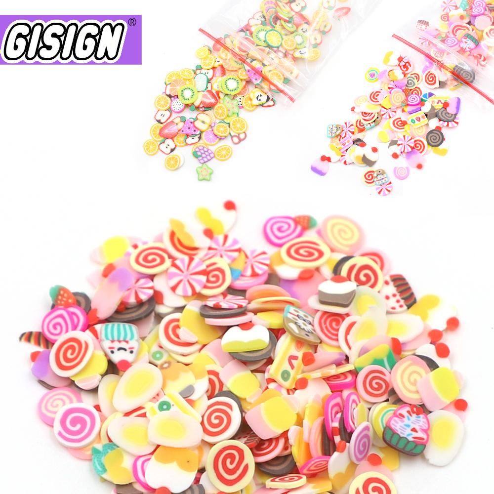 Fruit Slices Slide Charms For Slime Supplies Kit Fluffy Slimes Fruit Polymer Clear Slime Accessories Putty Clay Toys For Kids