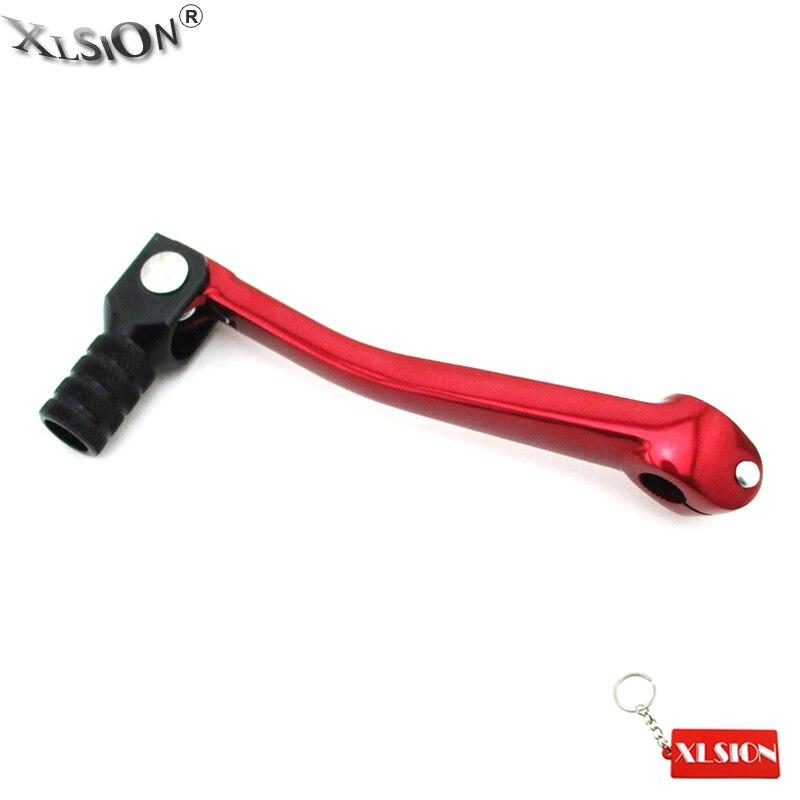 XLSION алюминиевая складная фотовспышка для 50cc 70cc 110cc 125cc 140cc 150cc 160cc YX YCF Pitster GPX ESB питбайк