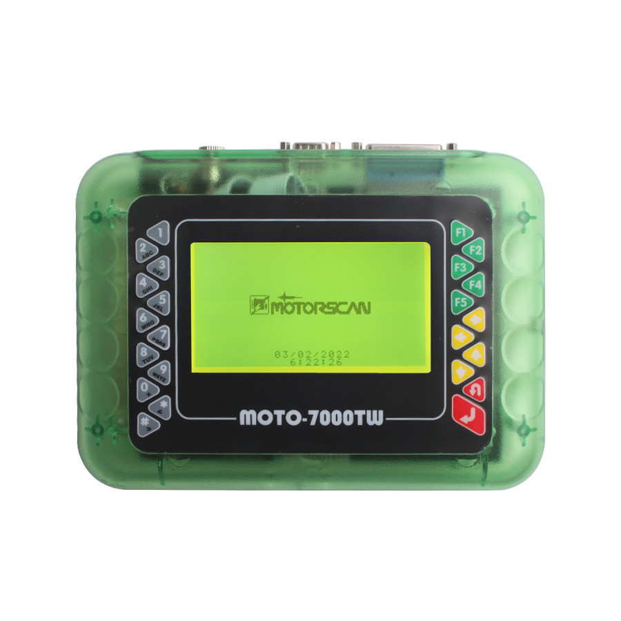 MOTO 7000TW Universal Motorcycle Scan Tool a
