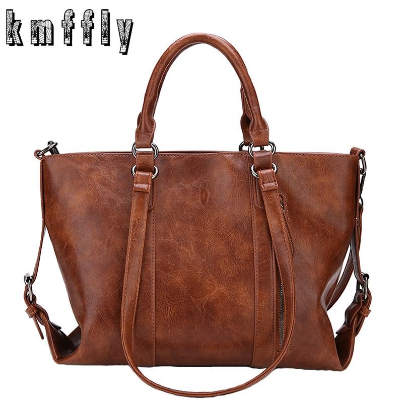 все цены на Fashion 2018 Women bag Women's pu Leather Handbags Luxury Lady Hand Bags big Women messenger bag Big Tote Sac Bolsos Mujer