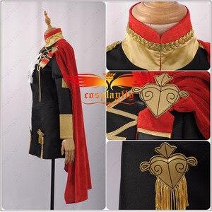 Image 3 - Emblema de fuego: disfraz de batalla de tres casas para niñas, traje de Cosplay para mujeres adultas, Top corto, capa, Halloween
