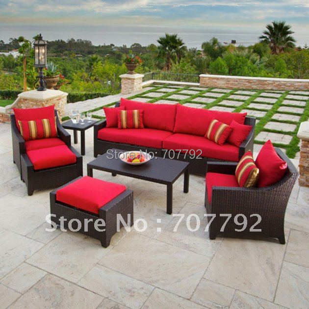 Resin Wicker Patio Furniture Set In Garden Sofas From Furniture On