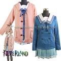 Mirai Kuriyama Cosplay Costumes Cosplay Uniform Anime Kyokai no Kanata Beyond the Boundary Free Shipping